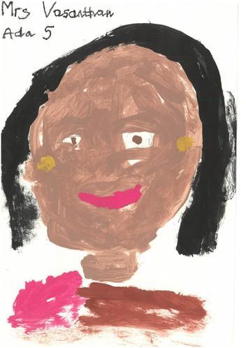 Mrs Vasanthan - Lunchtime Supervisor and Cleaner