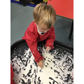 Writing our letter sounds in gloop