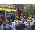 The Fire Fighters told us all about their job...