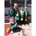 Some of our gardening team