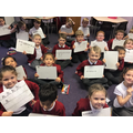 This week we have been practicing Handwriting