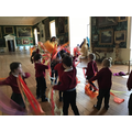 Year 1 and 2 trip to Temple Newsam House.