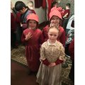 We had fun dressing up in Victorian clothes!