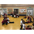 Geography- Making the 7 continents with our bodies