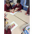 We have been doing some multiplying in maths!