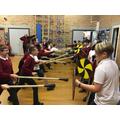 History - Anglo Saxon battle tactics