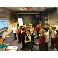 Music- Singing and Dancing as a class!