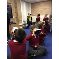 We had a Virtual Reality day exploring Egypt