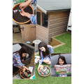 Gardening time -  My fairy garden for Unicorns.