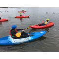 Kayaking on Yeadon Tarn!