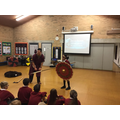 Anglo-Saxon Workshop - shield skills