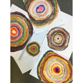 Art - Mixing primary and secondary colours