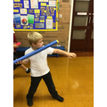 We even learn how to wield a spear.