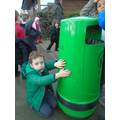 How many hands tall is this bin?