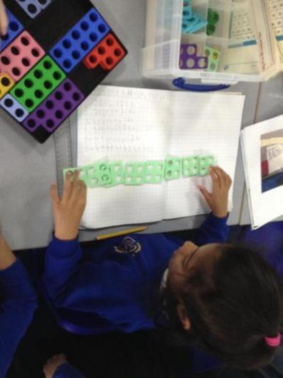 We use numicon...