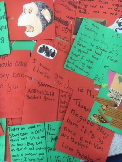 Postcards from Storybarn