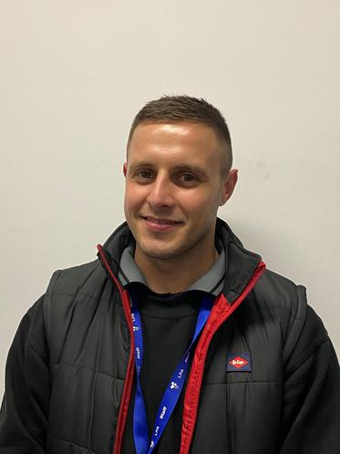 Liam Starbuck- Site Manager