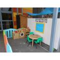 outside role play area