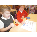 Children enjoying math's activities & resources