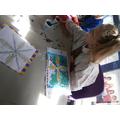 Painting our Batik