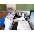Theo and Jack collaborating on Skype!