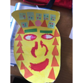 Brilliant Mayan mask!