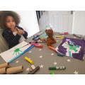 Creating Dinosaurs