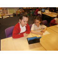 Year 2 using the LearnPads to research habitats