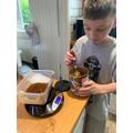 Oliver's brilliant baking!