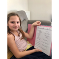 Preparing a daily timetable to help with routine
