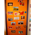 Looking at different images of being British.