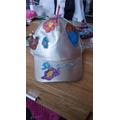 Amelia's Easter hat