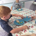 Focussed Activity - filling pitta pockets.