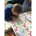 Focussed Activity - writing in our Easter cards.