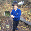 Forest School - chicken soup!