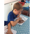 Focussed Activity - making hedgehogs.