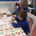 Focussed Activity - CVC word sounds and writing.