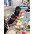Focussed Activity - finishing our decorations.