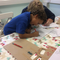 Focussed Activity - fine motor skills colouring.
