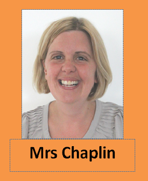 Mrs Chaplin teaches in Goldfinches from Tuesday to Friday