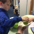Focussed Activity - making a sock snowman.