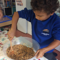 Focussed Activity - making bird feeders.