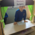 Choosing - role play at the Den Surgery.