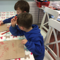 Focussed Activity - fine motor skills drawing.