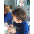 Focussed Activity - playdough gym.