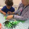 Focussed Activity - wreath making.