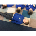Mindfulness - concentrating on our breathing.