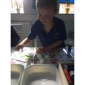 Focussed Activity - making an Easter card.