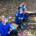Forest School - snack & chat.