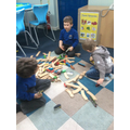 Choosing Time - working together to build a track.